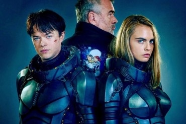"First look: Cara Delevingne in the film by Luc Besson ""Valerian and the city of a thousand planets"""