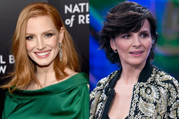 Chastain, Binoche and others have created a production company, to help women in the film industry