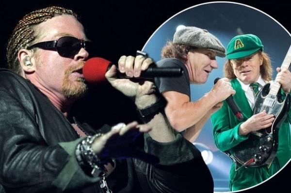 Фронтмен «Guns N' Roses» может временно заменить вокалиста «AC/DC»