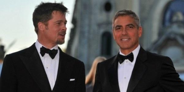 Джордж Клуни предупредил, что собирается разрушить карьеру Брэда Питта