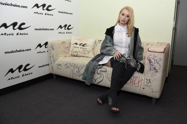 Стильная Игги Азалия посетила ток-шоу и Лос-Анджелесе