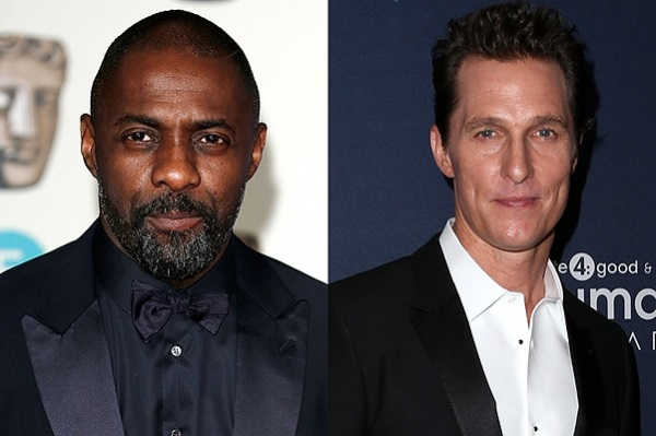 Matthew McConaughey and Idris Elba will star in film adaptation of novels by Stephen king