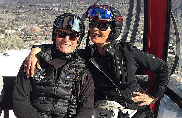 Майкл Дуглас и Кэтрин Зета-Джонс  отдыхают в горах