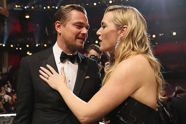 """The first """"Oscar"""" DiCaprio: the speech of the winner, the reaction of Kate Winslet and other details"""