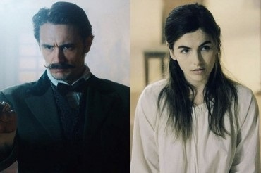 "James Franco and Camilla Belle at the first images of the Thriller ""the Mad whale"""