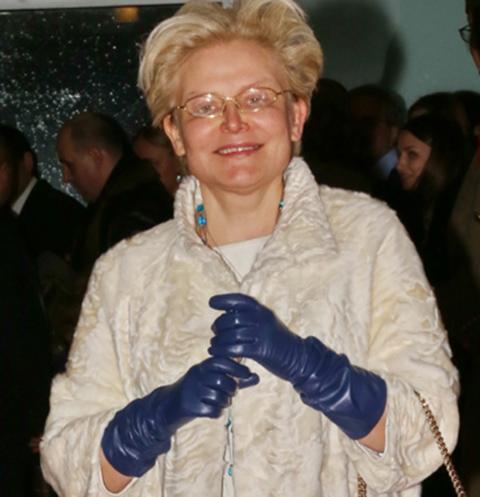 Елена Малышева показала годовалого внука