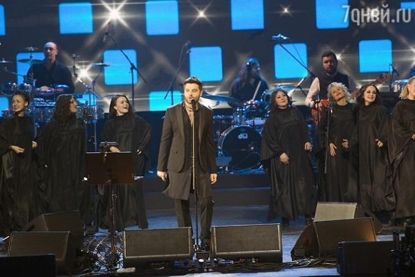 На концерт Алексея Чумакова пришли Мартиросян, Ревва и Харламов