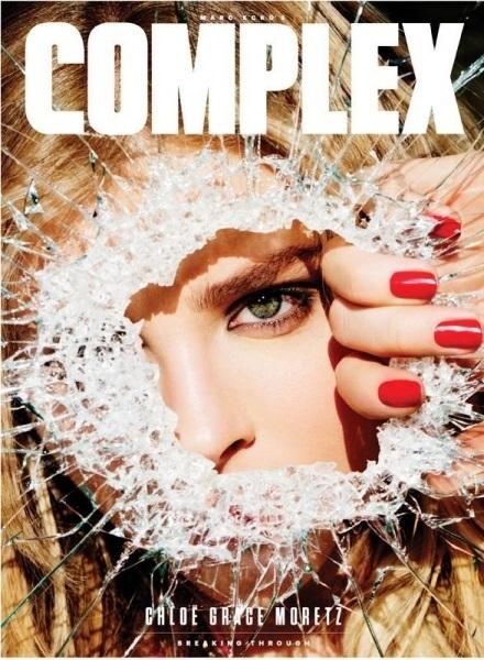«Хулиганка» Хлоя Морец позирует для Complex