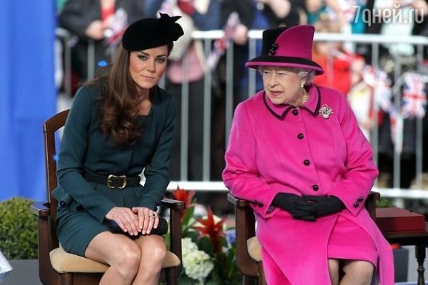 Кейт Миддлтон рассказала, как завоевывала сердце Елизаветы II