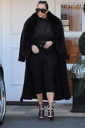 Ким Кардашьян похудела на 20 килограммов