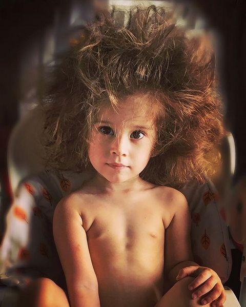 Двухлетняя дочь Тани Терешиной впервые сменила имидж