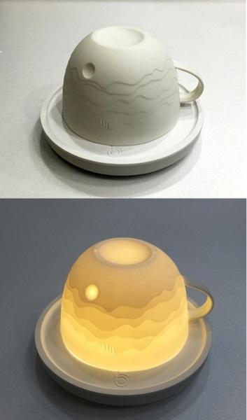 Необычная посуда: чашка спейзажем иподсветкой