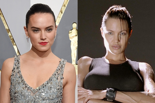 Daisy Ridley claims the role of Lara Croft