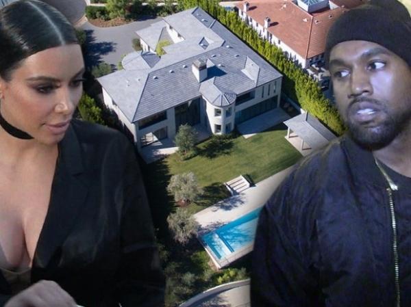 Ким Кардашьян и Канье Вест въехали в свой дом