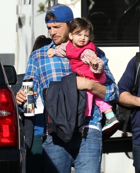 Эштон Катчер запрещает дочери есть сладкое