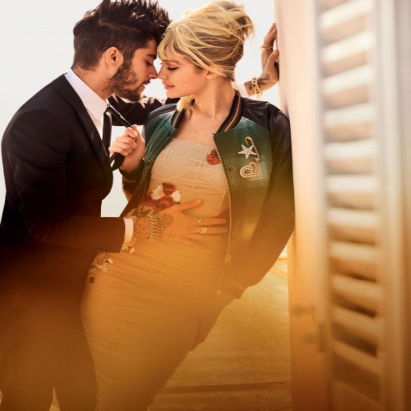 Джиджи Хадид приняла участие в романтической фотосессии