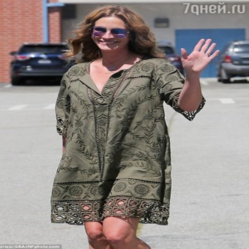 Беременность Джулии Робертс вызвала бурные обсуждения в СМИ