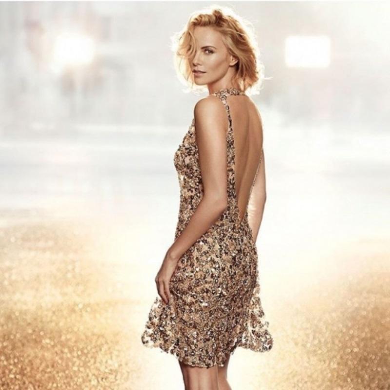 Шарлиз Терон в новой рекламе аромата от Dior: первый взгляд