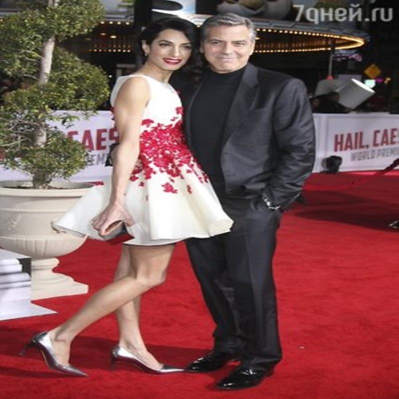 Жена Джорджа Клуни отреагировала на слухи об измене своего мужа