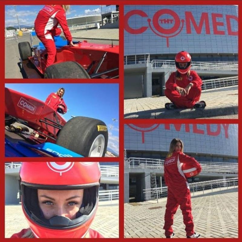 Гарик Мартиросян готовит супругу к гонке «Формула-1» в Сочи