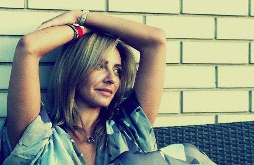 Татьяна Навка «купается» в любви мужа
