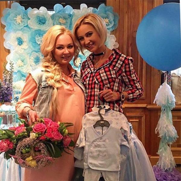 Дарья Пынзарь устроила праздник в честь будущего малыша