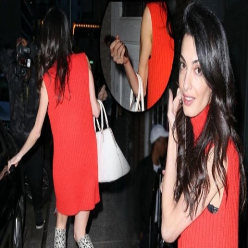 Амаль Клуни шокировала своей худобой