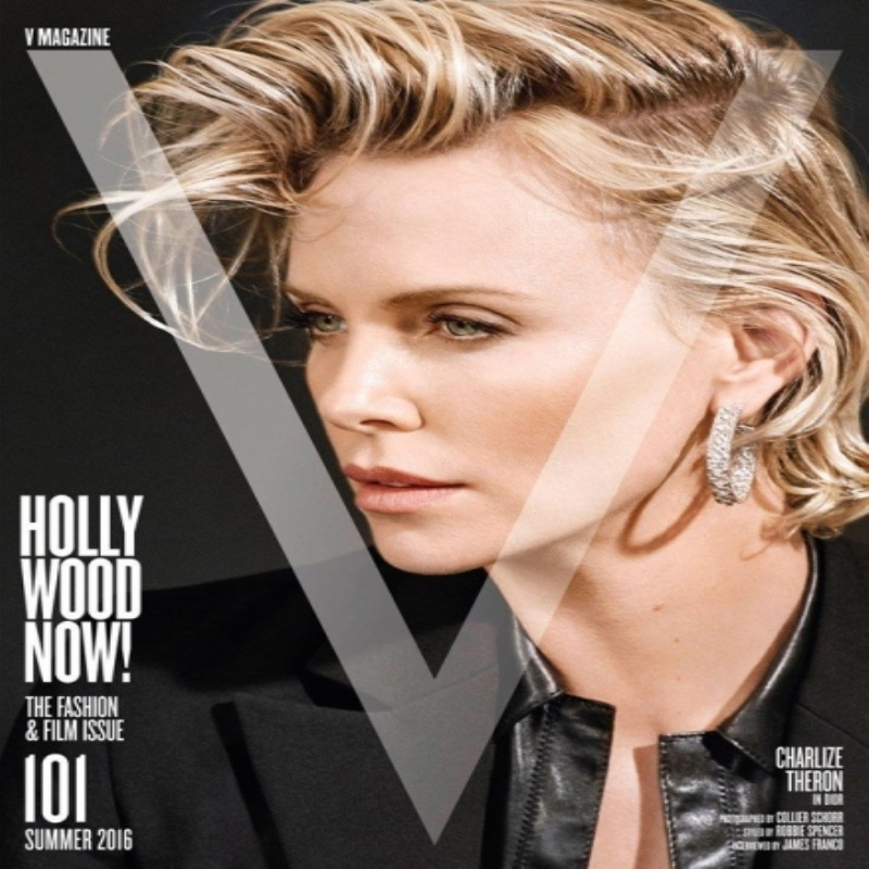 Элегантная Шарлиз Терон украсила страницы V Magazine