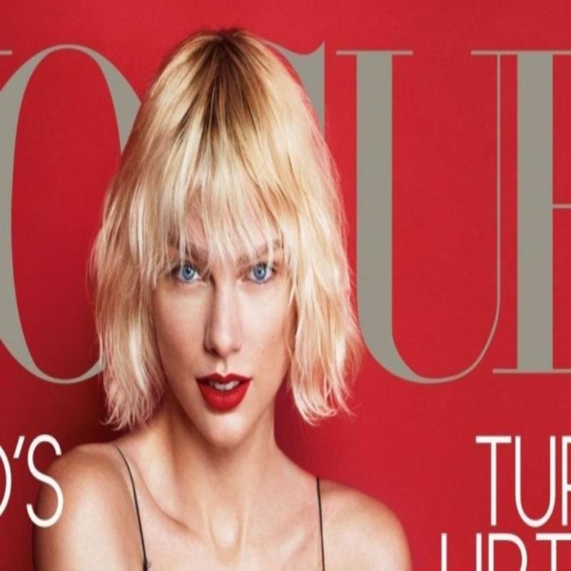 Тейлор Свифт приняла участие в фотосессии для Vogue