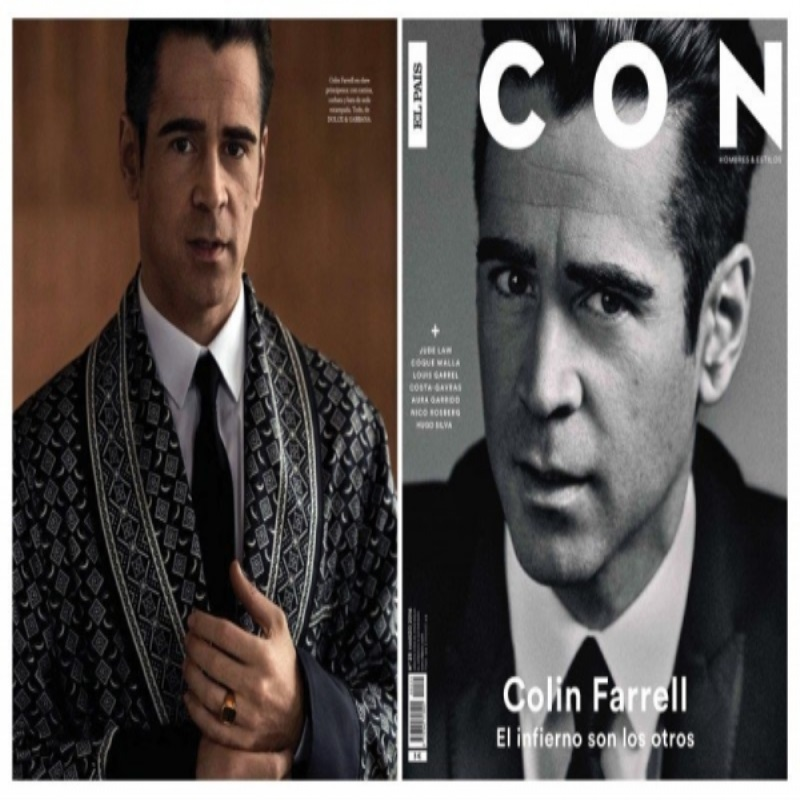Колин Фаррелл украсил страницы El Pais Icon