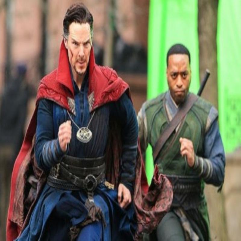 "The adventures of Benedict Cumberbatch in new York: the film ""Dr. strange"""