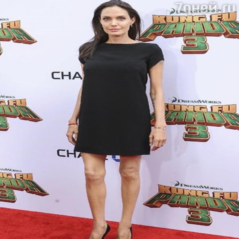 Вес Анджелины Джоли опустился ниже 40 килограммов