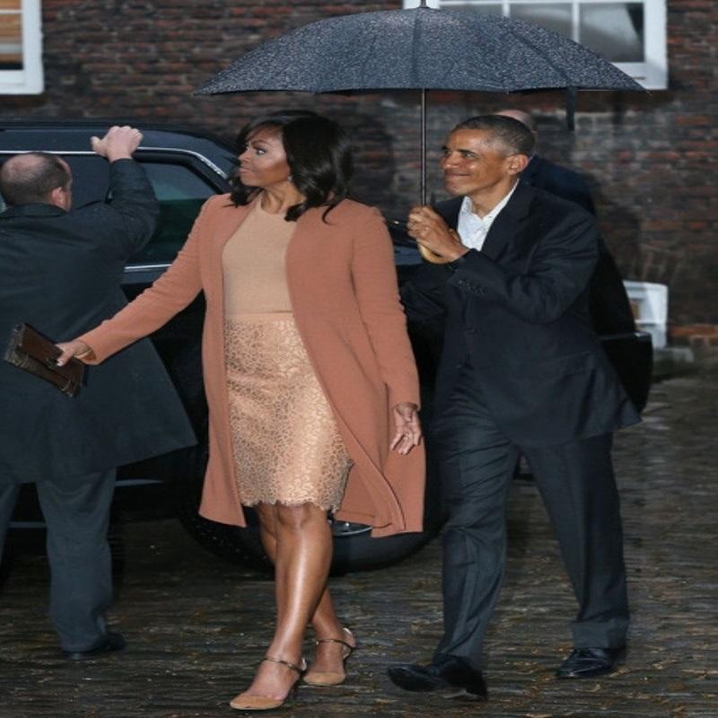 Кейт Миддлтон превзошла нарядом Мишель Обаму