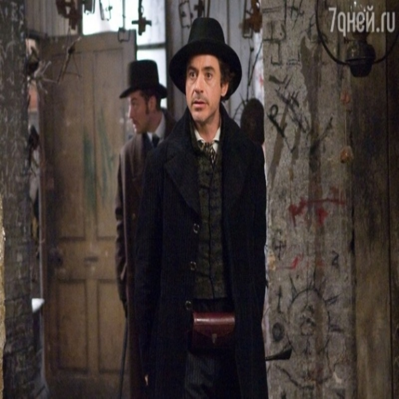Роберт Дауни-младший скоро снова сыграет Шерлока Холмса!