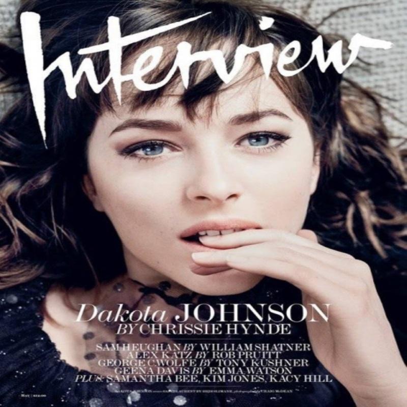 Дакота Джонсон снялась в ретро-фотосете для Interview