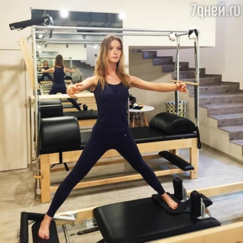 Светлана Иванова приобщила дочь к спорту