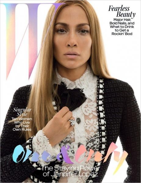 Дженнифер Лопес украсила страницы W Magazine