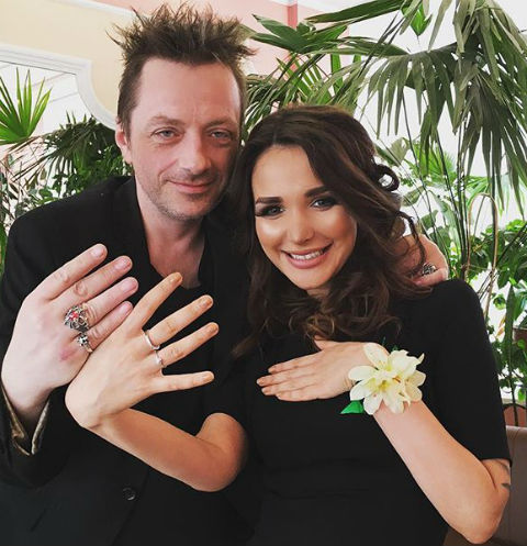 Глеб Самойлов женился в третий раз