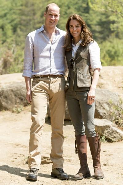 Уильям и Кейт отмечают деревянную свадьбу