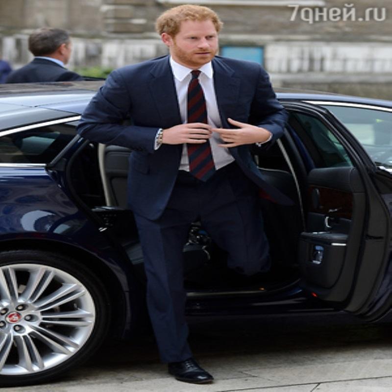 Принц Гарри избегает бывшую возлюбленную