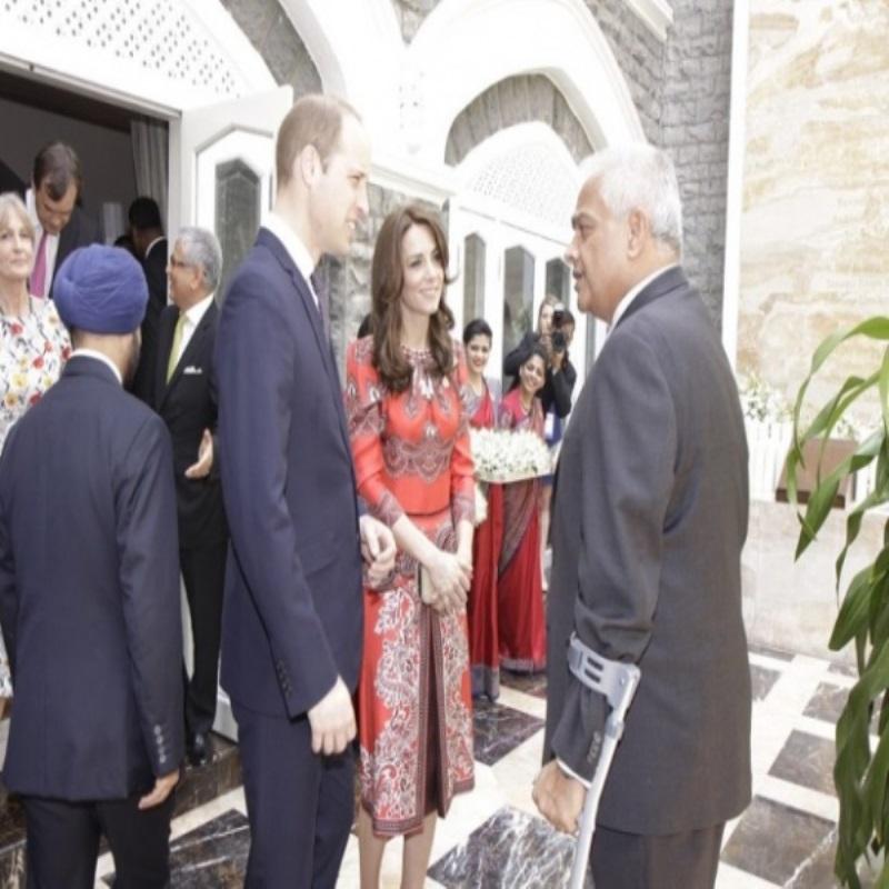 Герцог и герцогиня Кембриджские прибыли с визитом в Индию