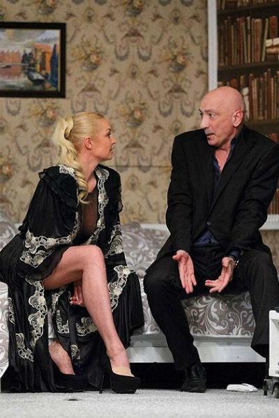 Анастасия Волочкова вызвала скандал в театре