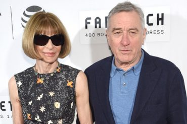 Anna Wintour, Robert De Niro and other stars at the opening of the Tribeca film festival