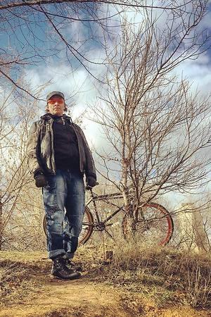Иван Охлобыстин открыл велосезон