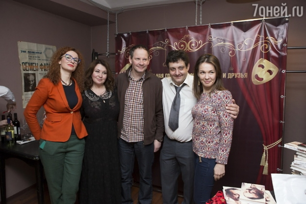 Mikhail politseymako in his anniversary arranged an evening in memory of father