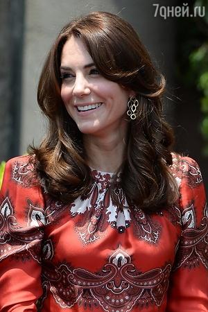 Кейт Миддлтон и принц Уильям отправились в тур по Индии