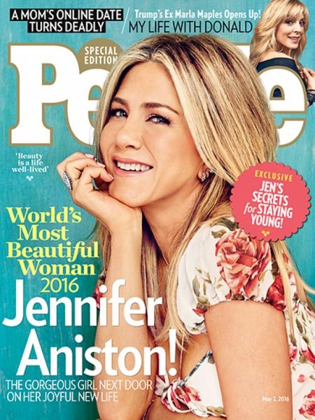 World's Most Beautiful 2016: Дженнифер Энистон — самая красивая женщина года по версии журнала People