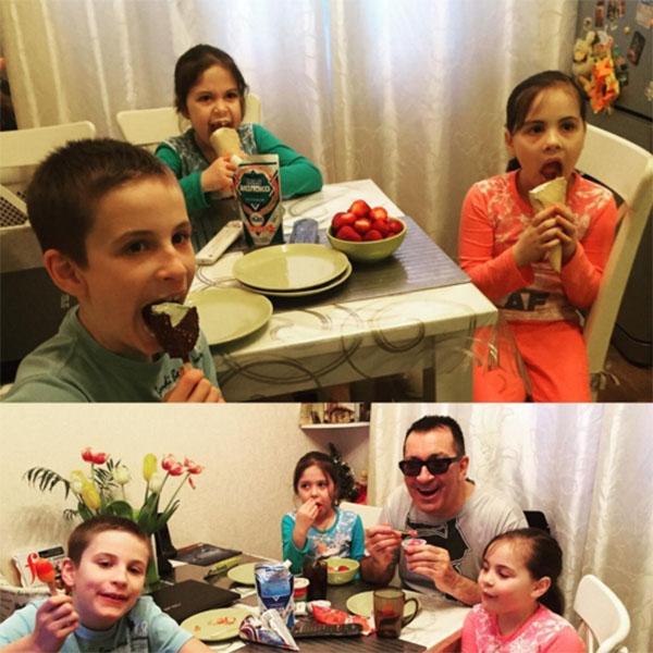 Внучки Александра Буйнова растут его копиями