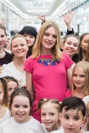 Беременная Наталья Водянова приехала в Москву