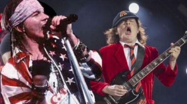 Легендарные рокеры AC/DC продолжили тур с новым вокалистом